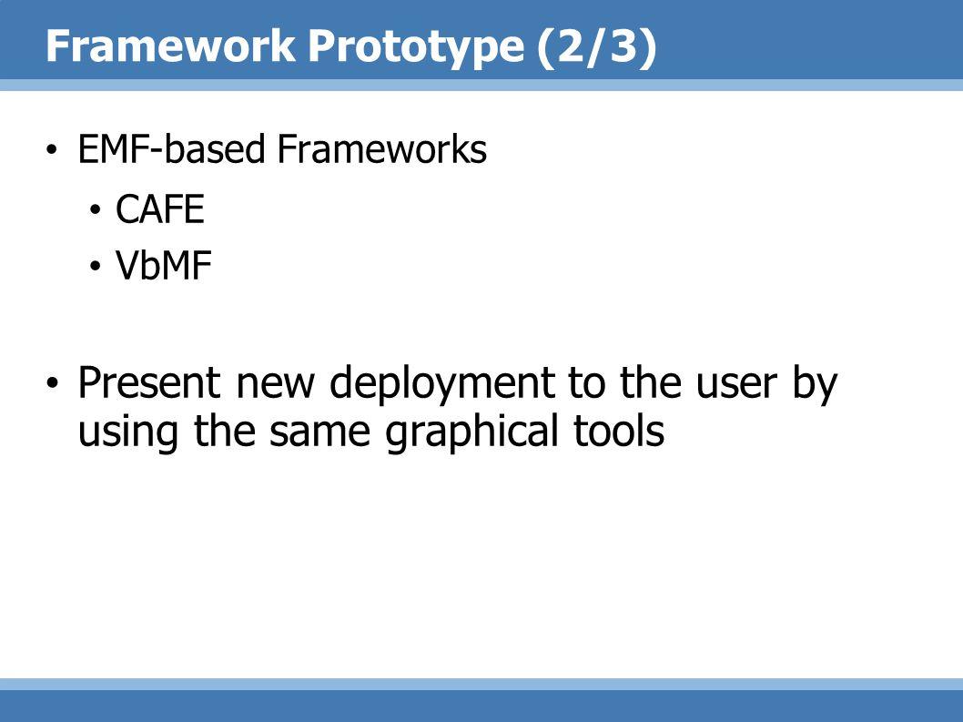 Framework Prototype (2/3)