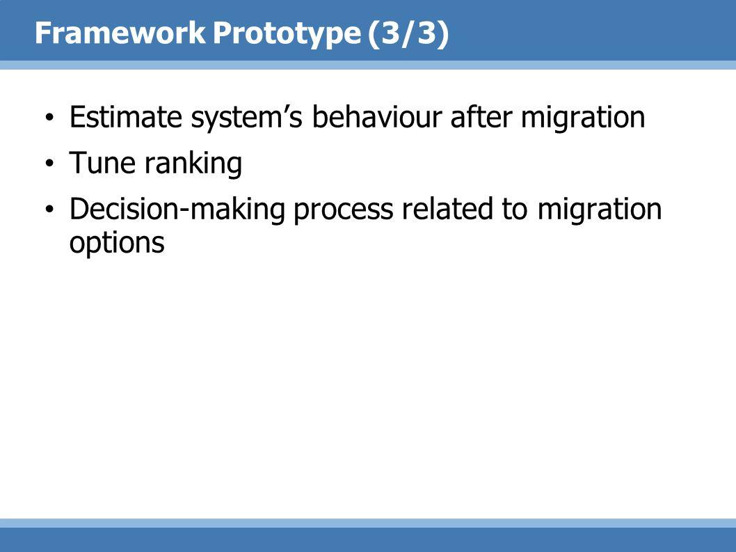 Framework Prototype (3/3)