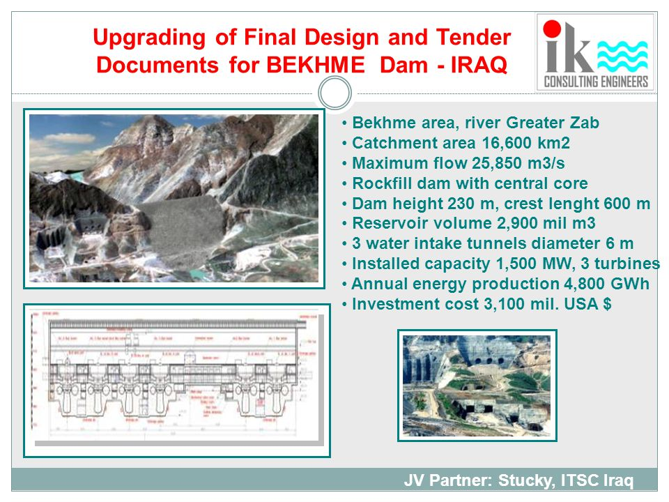 Upgrading of Final Design and Tender
