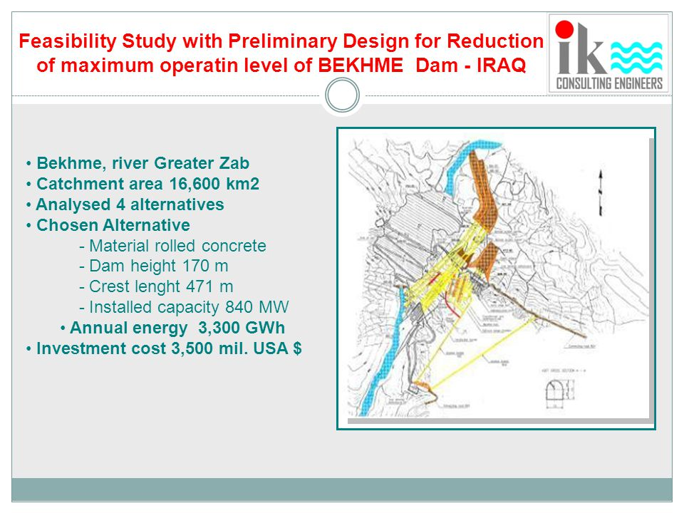 Feasibility Study with Preliminary Design for Reduction
