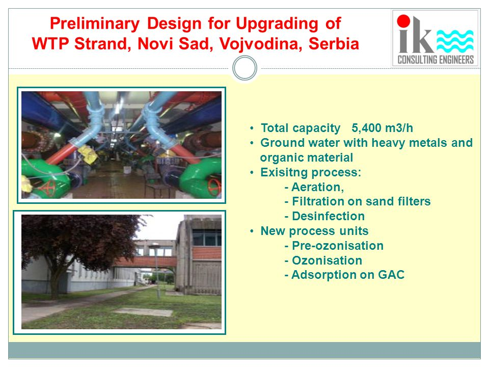 Preliminary Design for Upgrading of