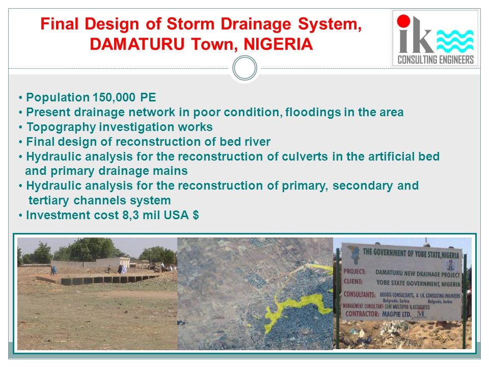 Final Design of Storm Drainage System,