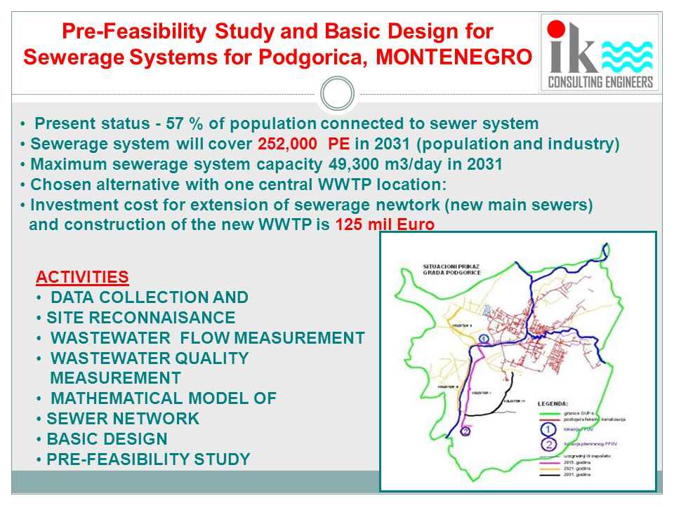 Pre-Feasibility Study and Basic Design for