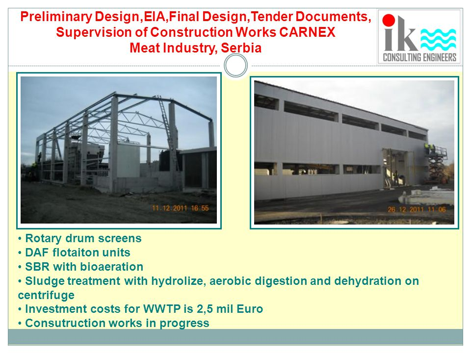 Preliminary Design,EIA,Final Design,Tender Documents,