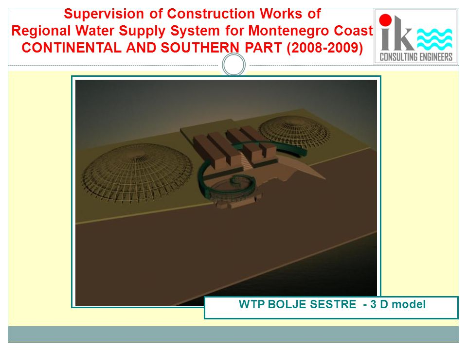 Supervision of Construction Works of