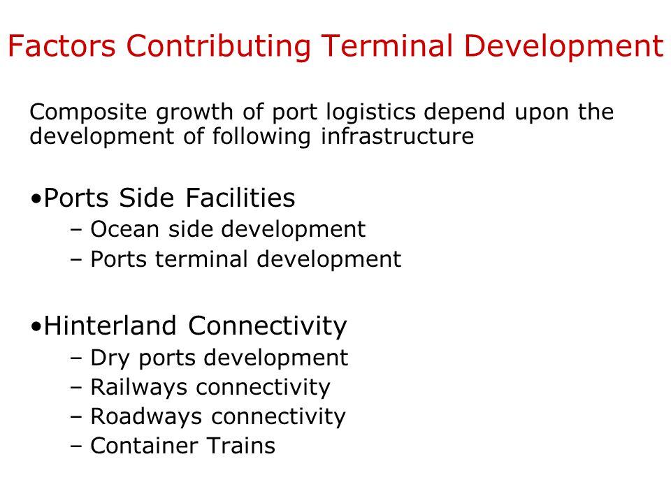 Factors Contributing Terminal Development