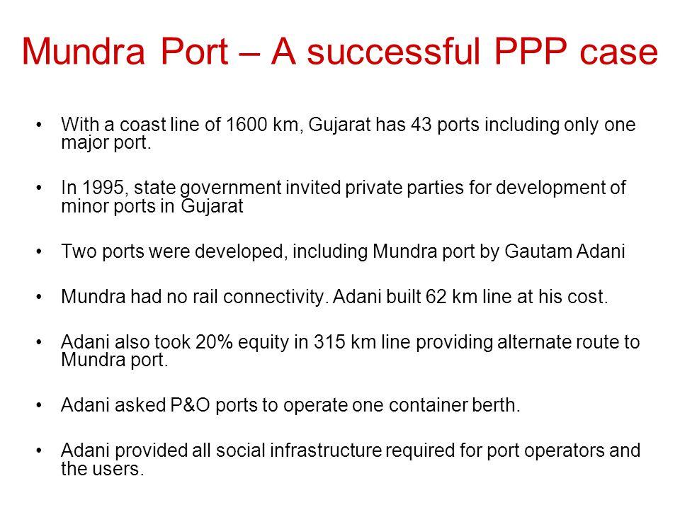 Mundra Port – A successful PPP case