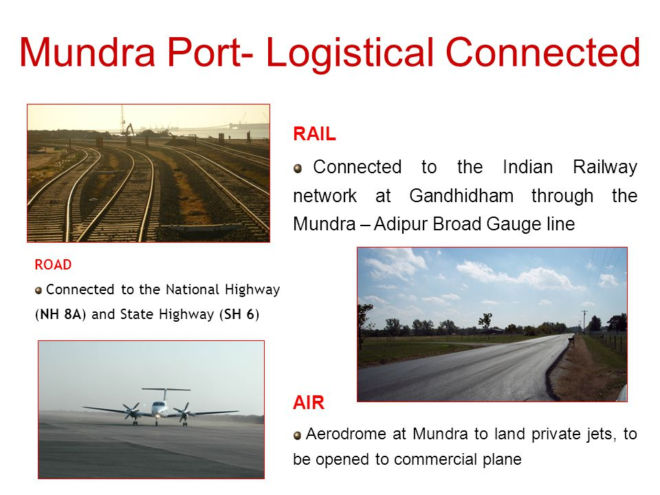 Mundra Port- Logistical Connected