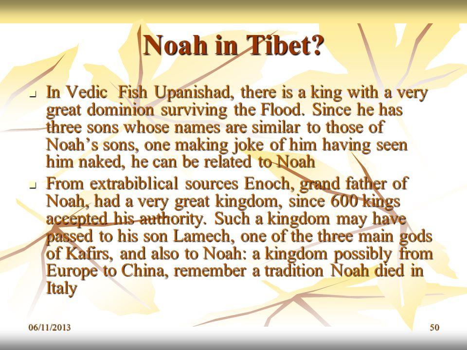 Noah in Tibet