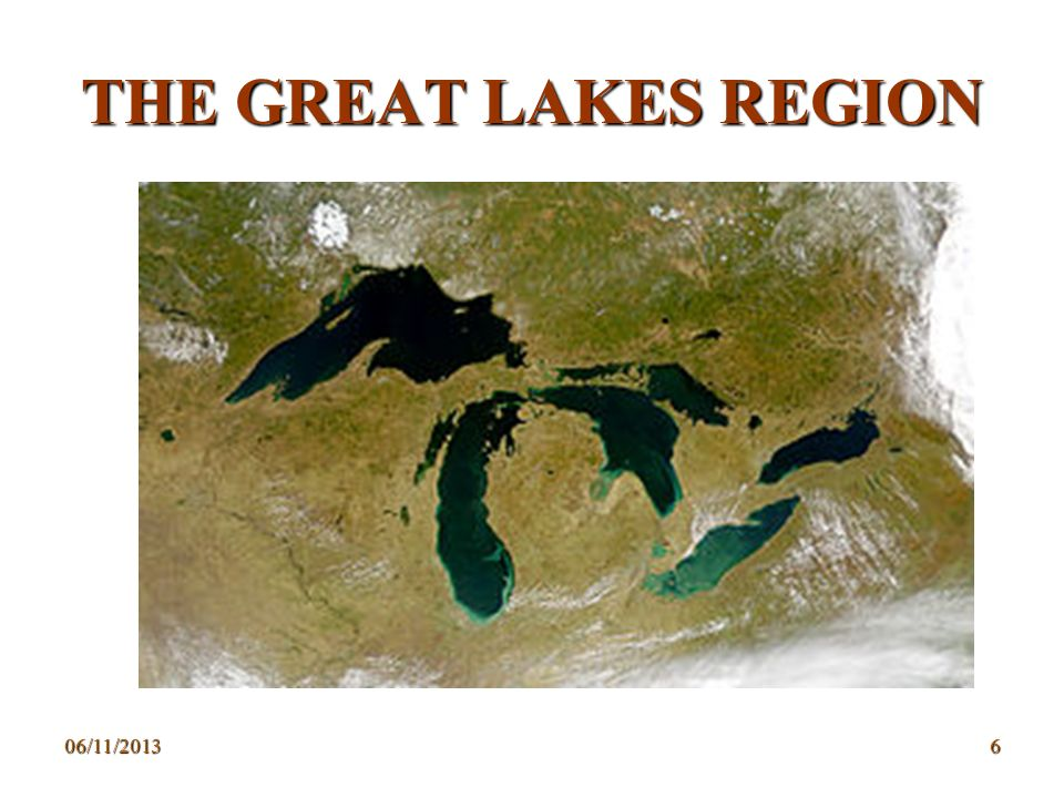 THE GREAT LAKES REGION 23/03/2017