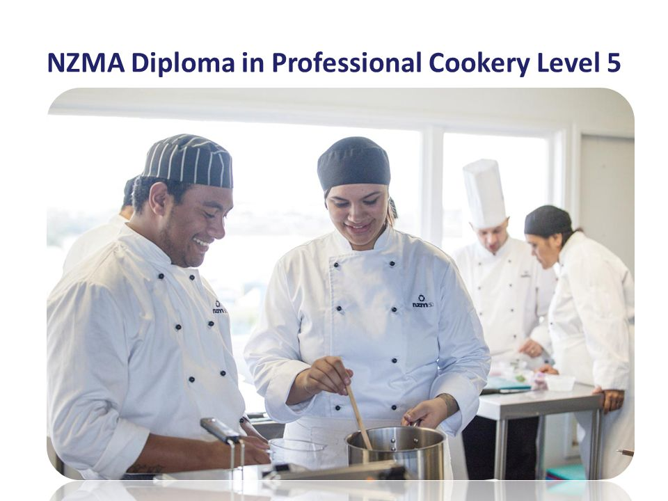 NZMA Diploma in Professional Cookery Level 5