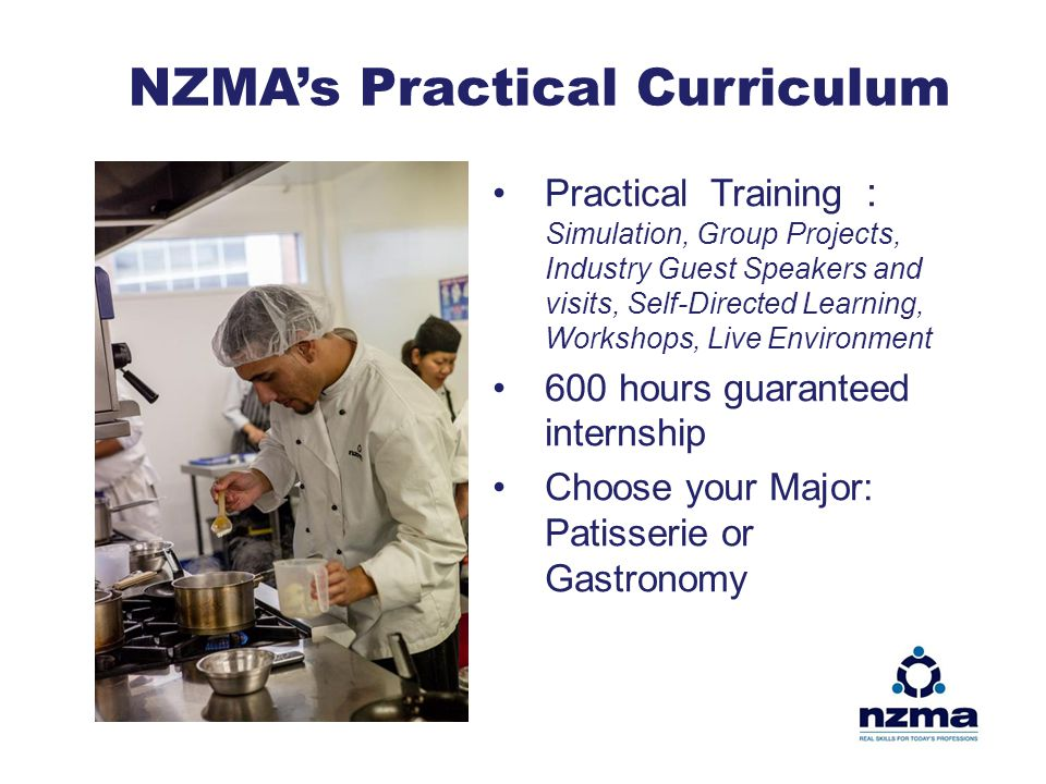 NZMA's Practical Curriculum