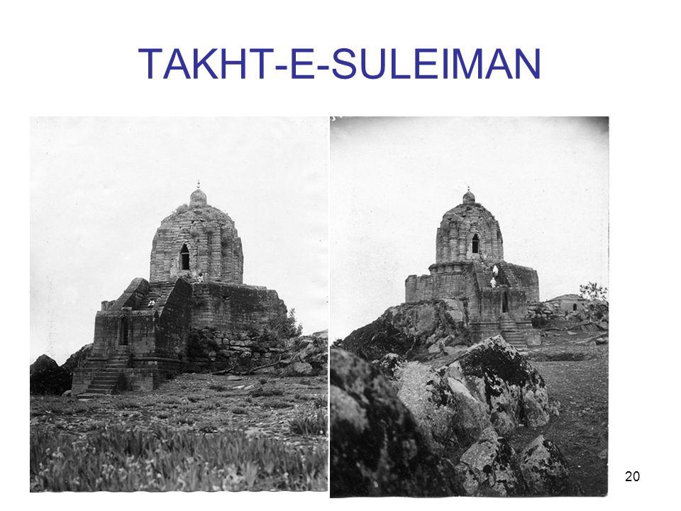 TAKHT-E-SULEIMAN