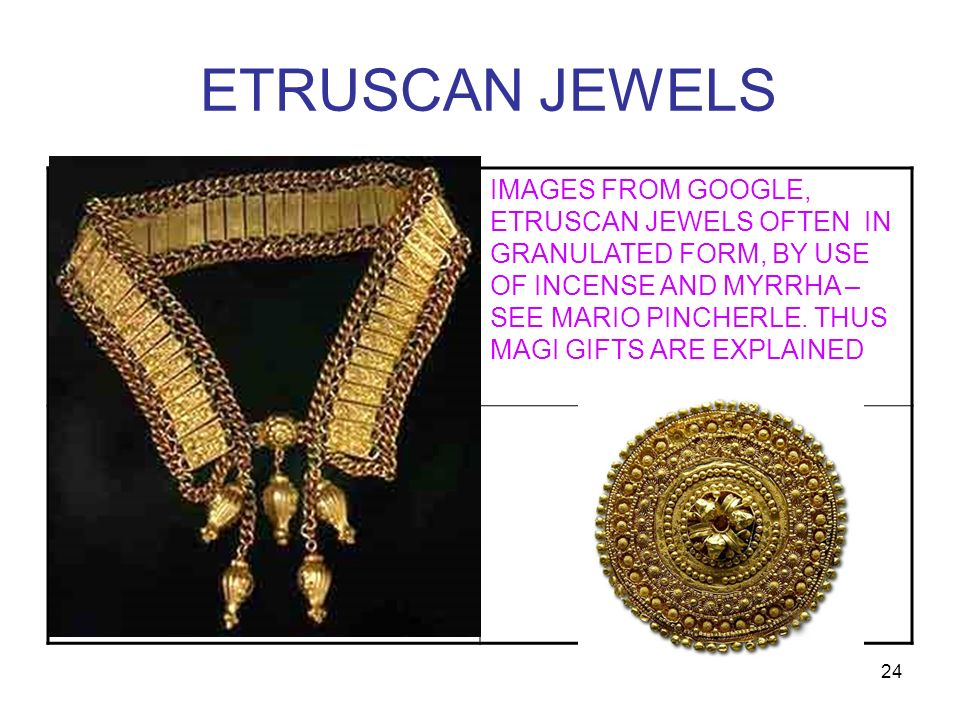 ETRUSCAN JEWELS