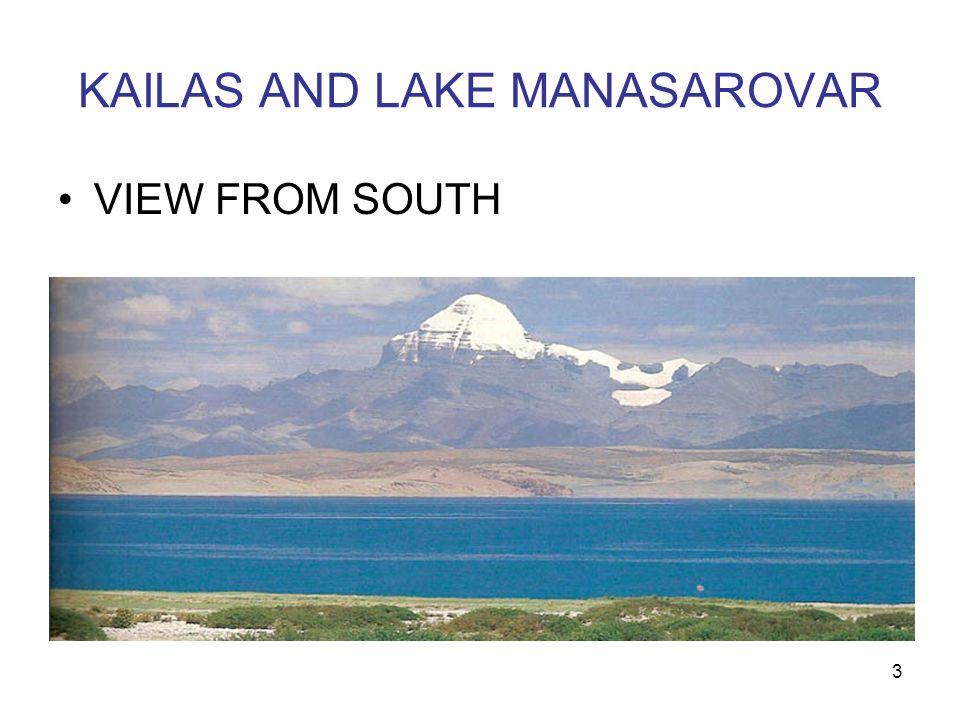 KAILAS AND LAKE MANASAROVAR