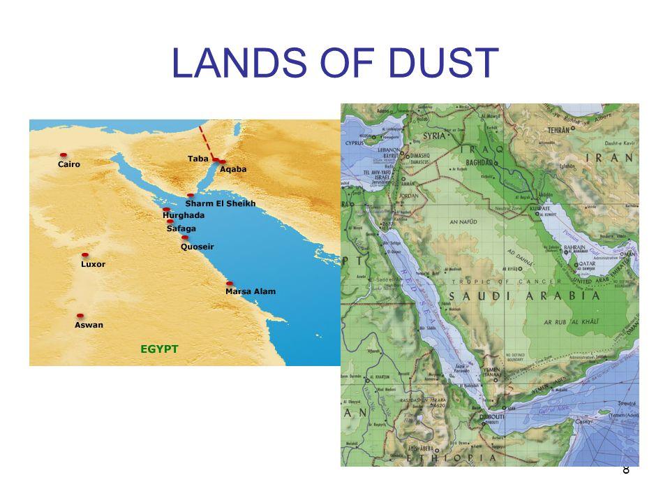 LANDS OF DUST