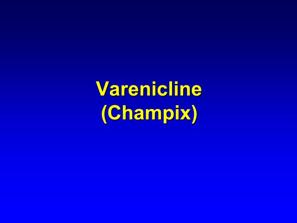 Varenicline (Champix)