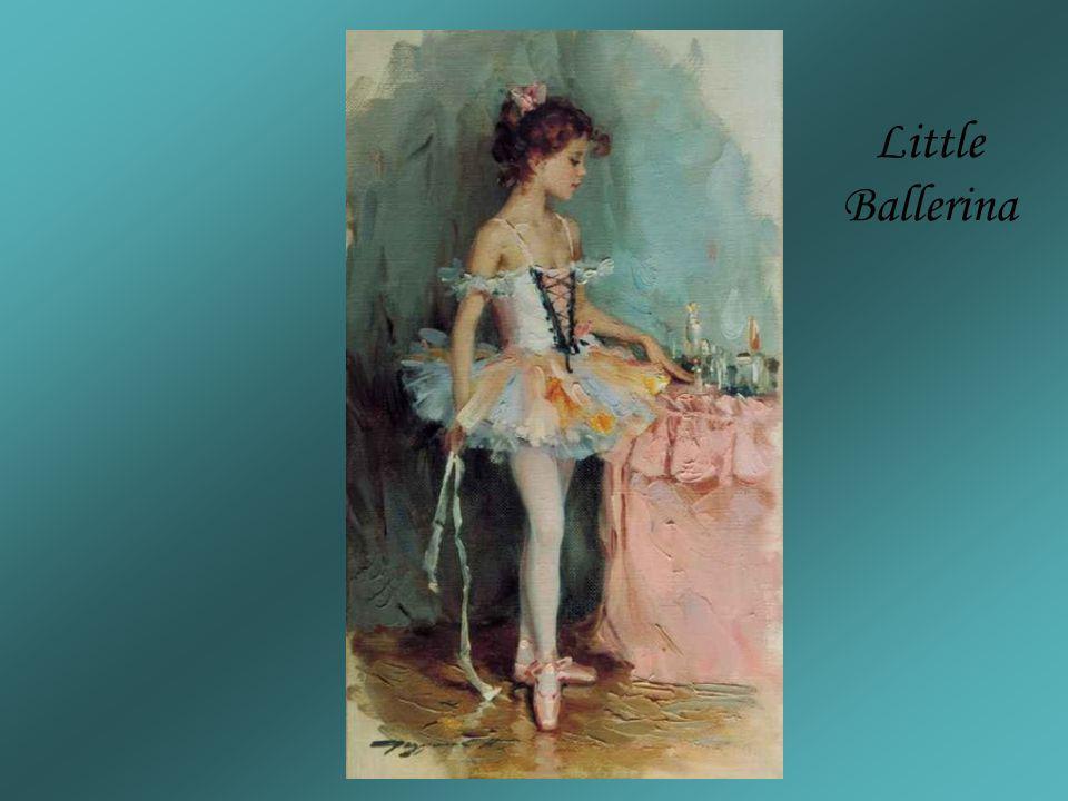 Little Ballerina KONSTANTIN RAZUMOV (Born 1974) RUSSIAN Little Ballerina .