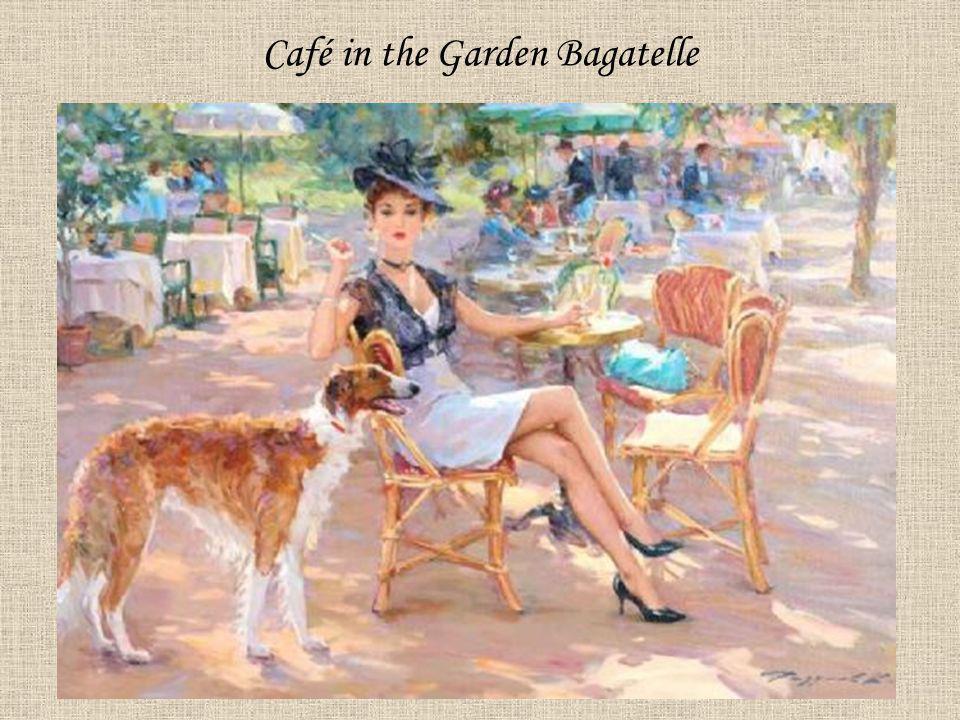 Café in the Garden Bagatelle