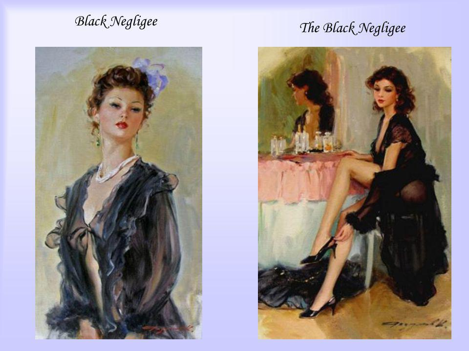 Black Negligee The Black Negligee