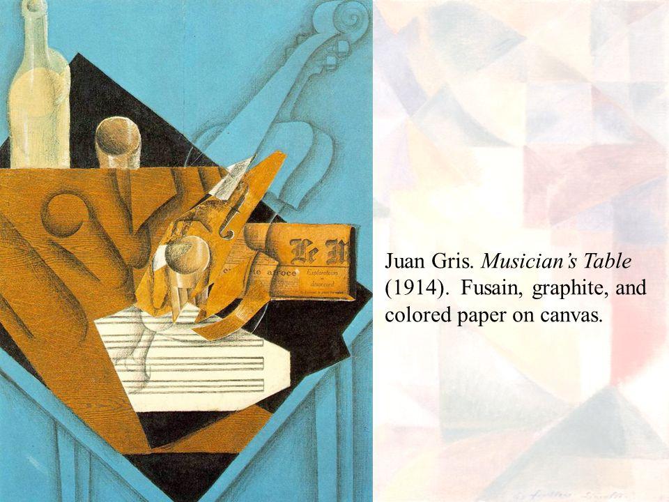 Juan Gris. Musician's Table