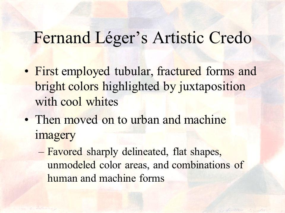 Fernand Léger's Artistic Credo