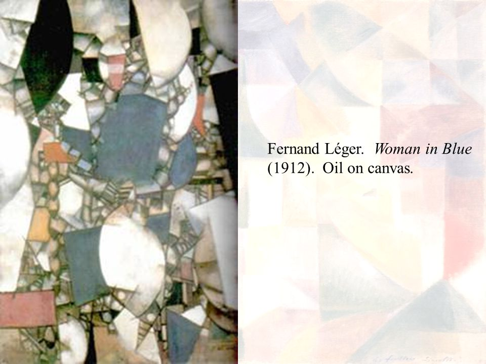 Fernand Léger. Woman in Blue