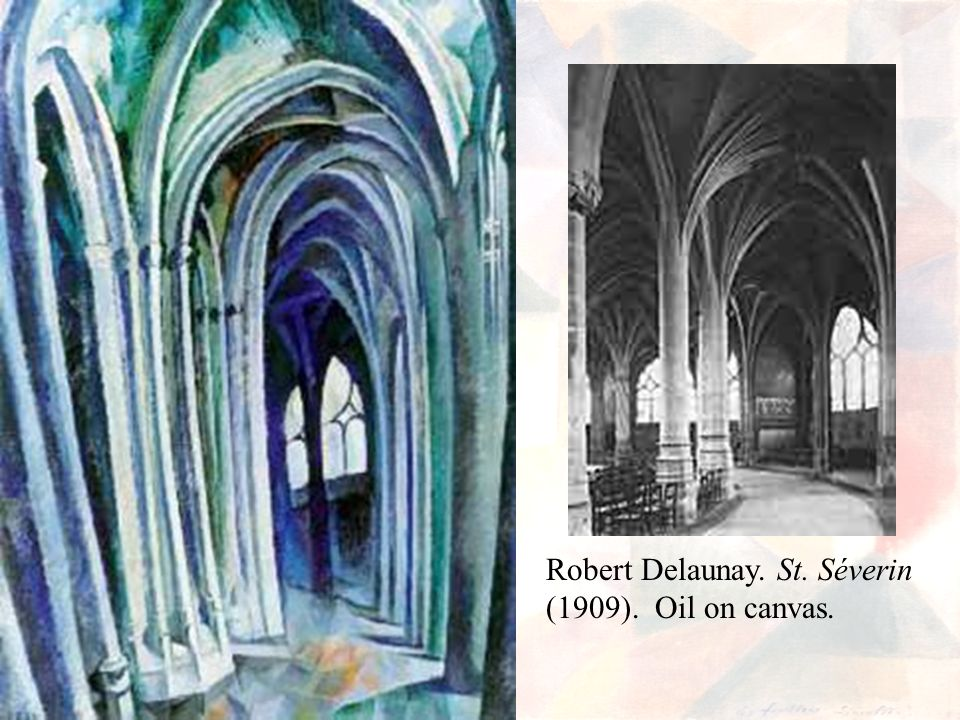 Robert Delaunay. St. Séverin