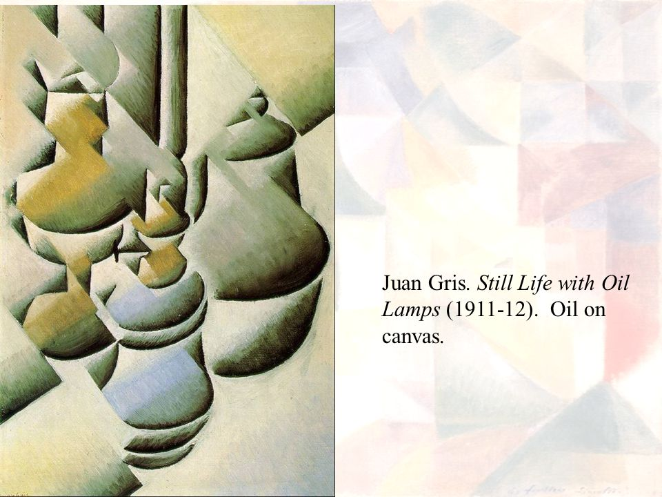 Juan Gris. Still Life with Oil