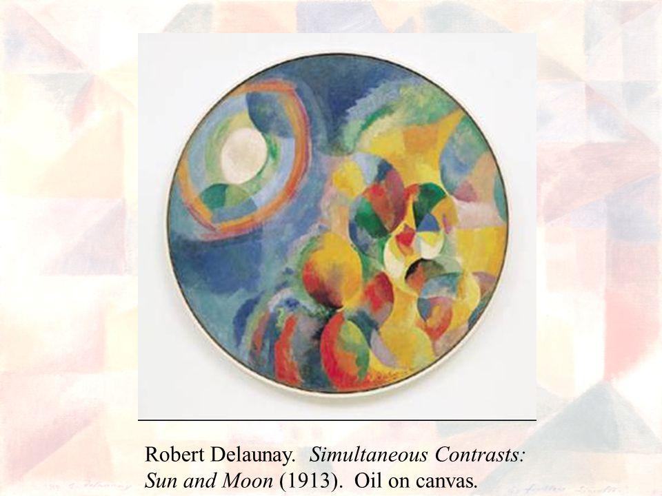 Robert Delaunay. Simultaneous Contrasts: