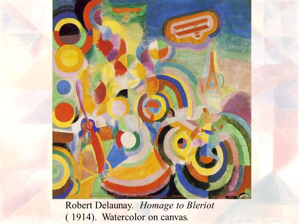 Robert Delaunay. Homage to Bleriot