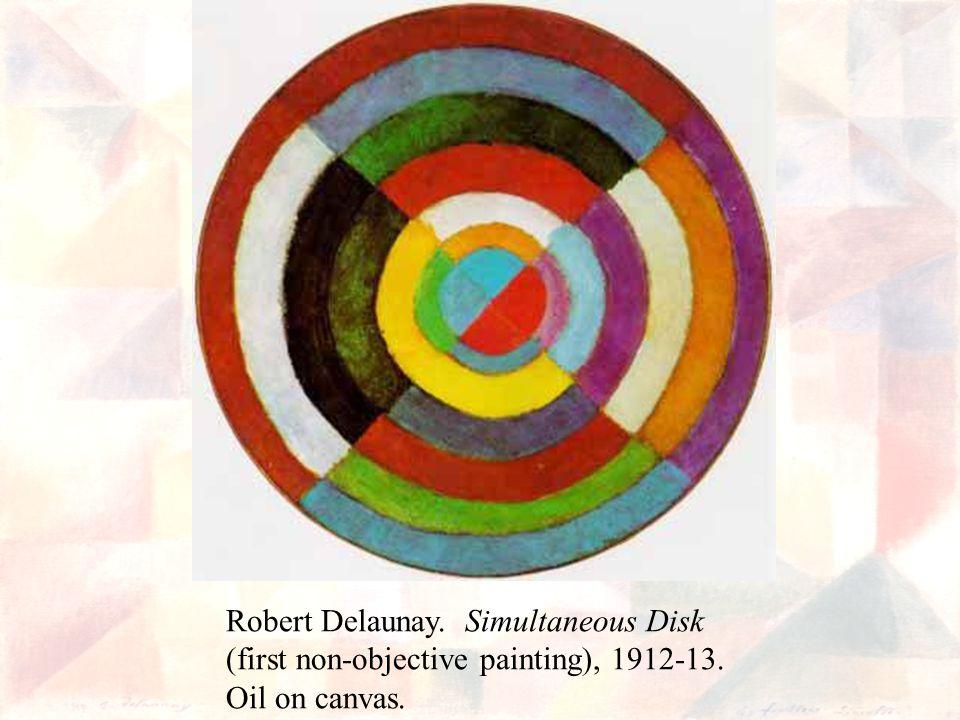 Robert Delaunay. Simultaneous Disk
