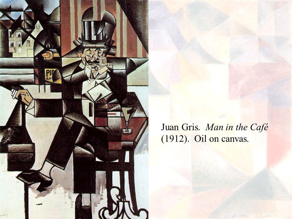 Juan Gris. Man in the Café