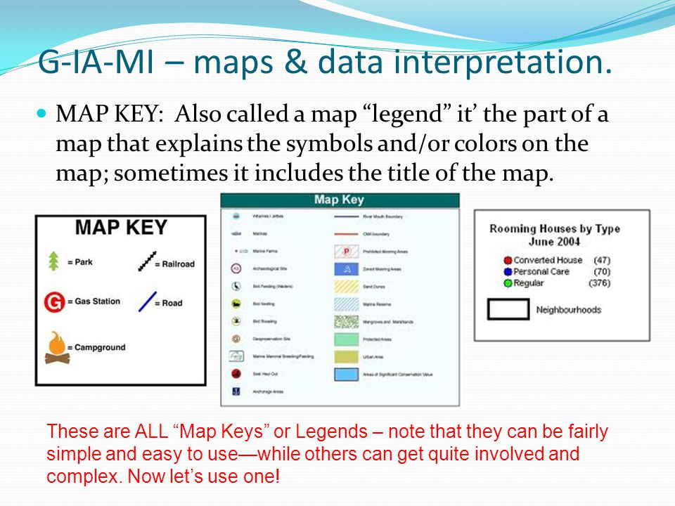 G-IA-MI – maps & data interpretation.
