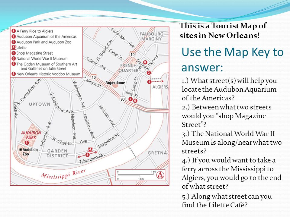 Use the Map Key to answer: