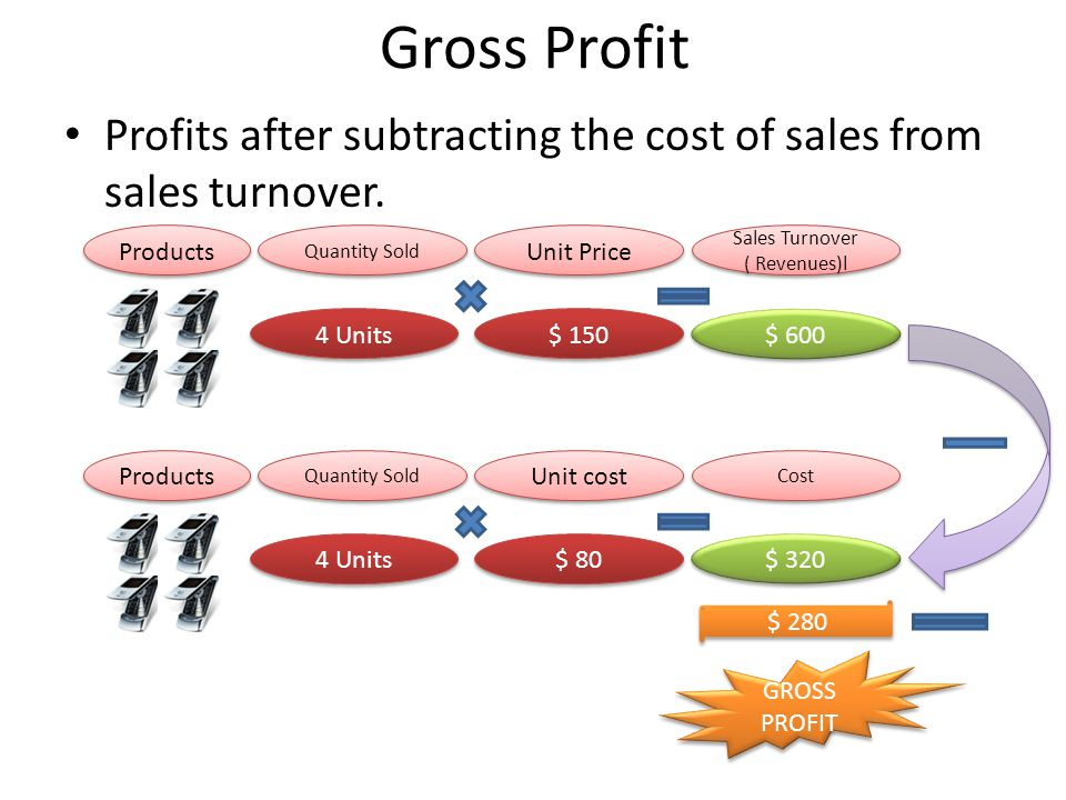 Sales Turnover ( Revenues)l
