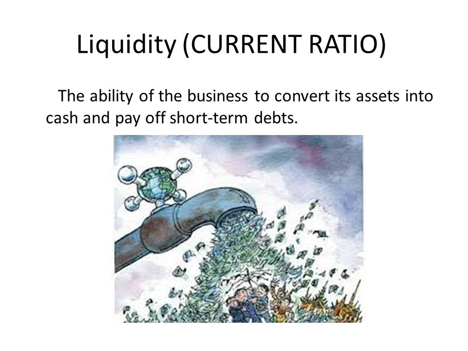 Liquidity (CURRENT RATIO)