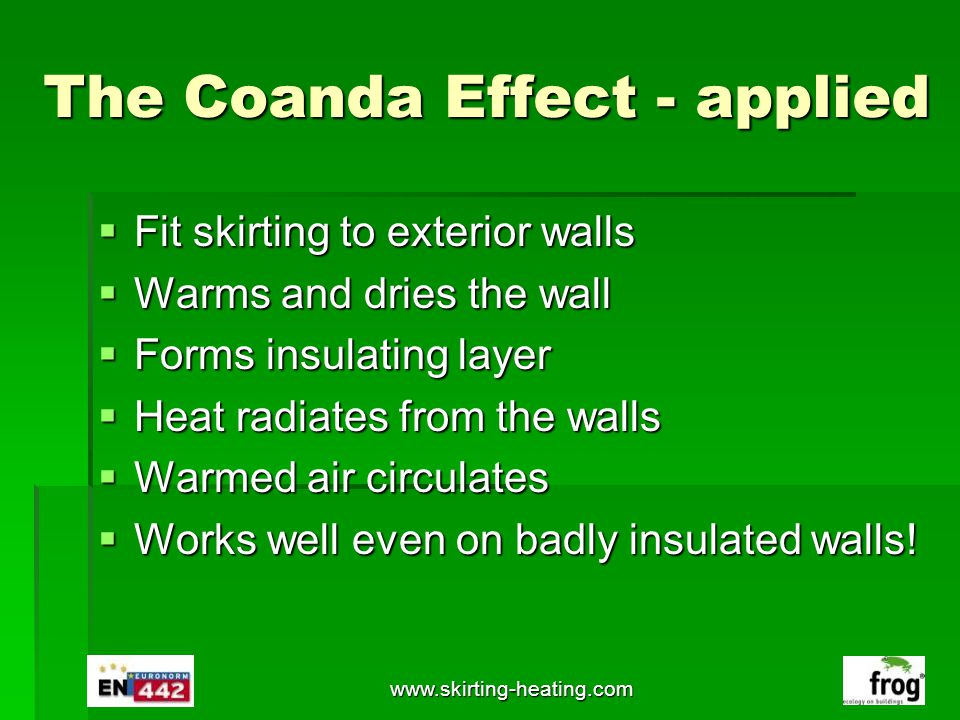 The Coanda Effect - applied