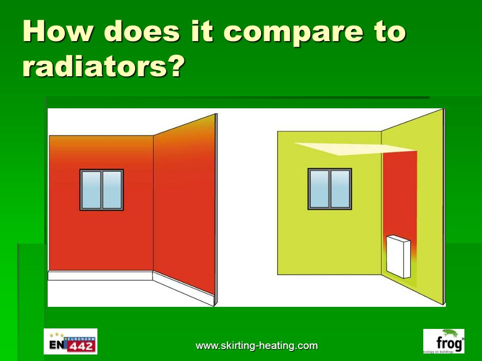 How does it compare to radiators