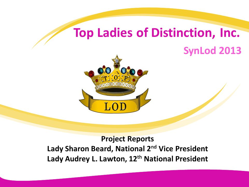 Top Ladies of Distinction, Inc.