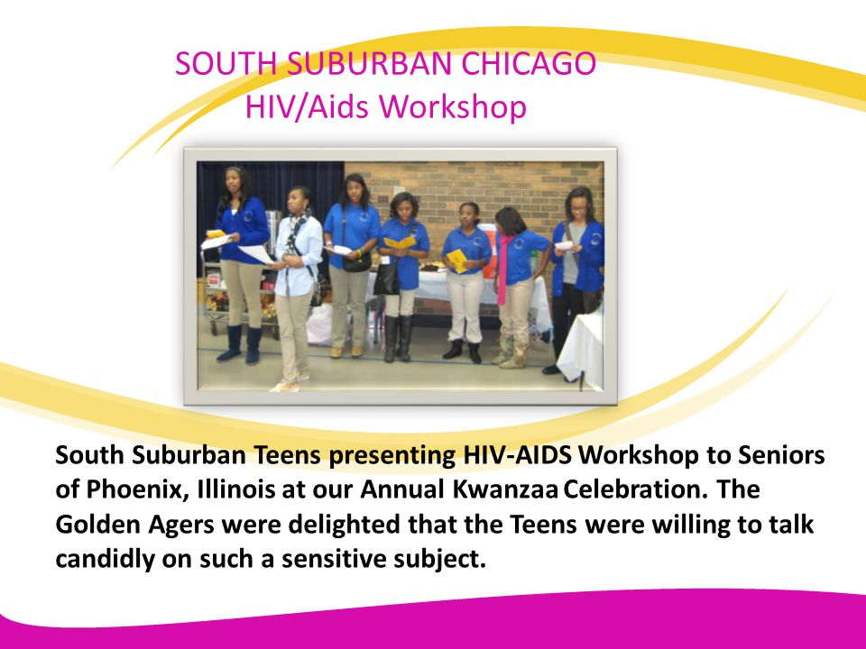 SOUTH SUBURBAN CHICAGO HIV/Aids Workshop