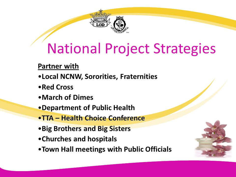 National Project Strategies