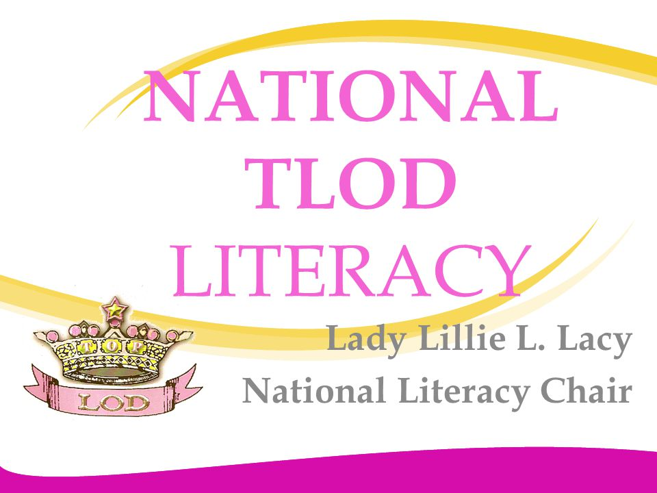 NATIONAL TLOD LITERACY