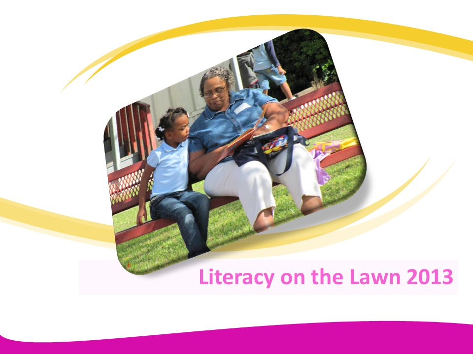 Literacy on the Lawn 2013