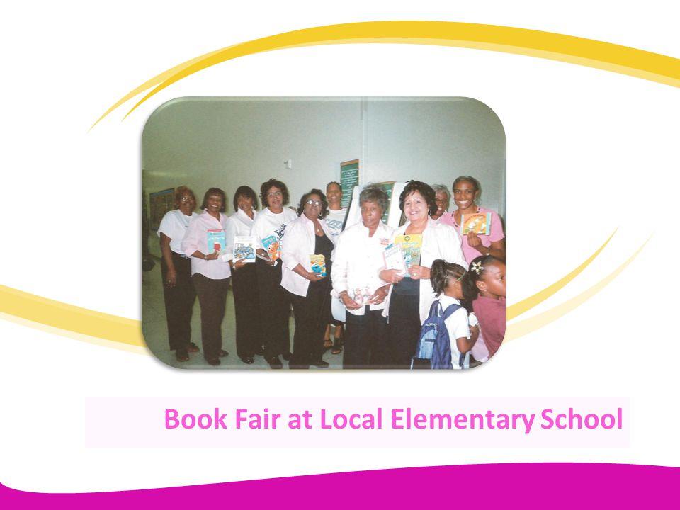 Book Fair at Local Elementary School
