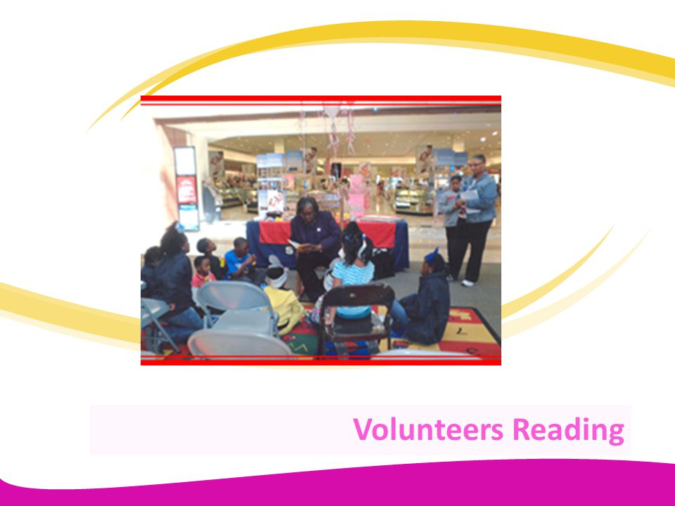 Volunteers Reading