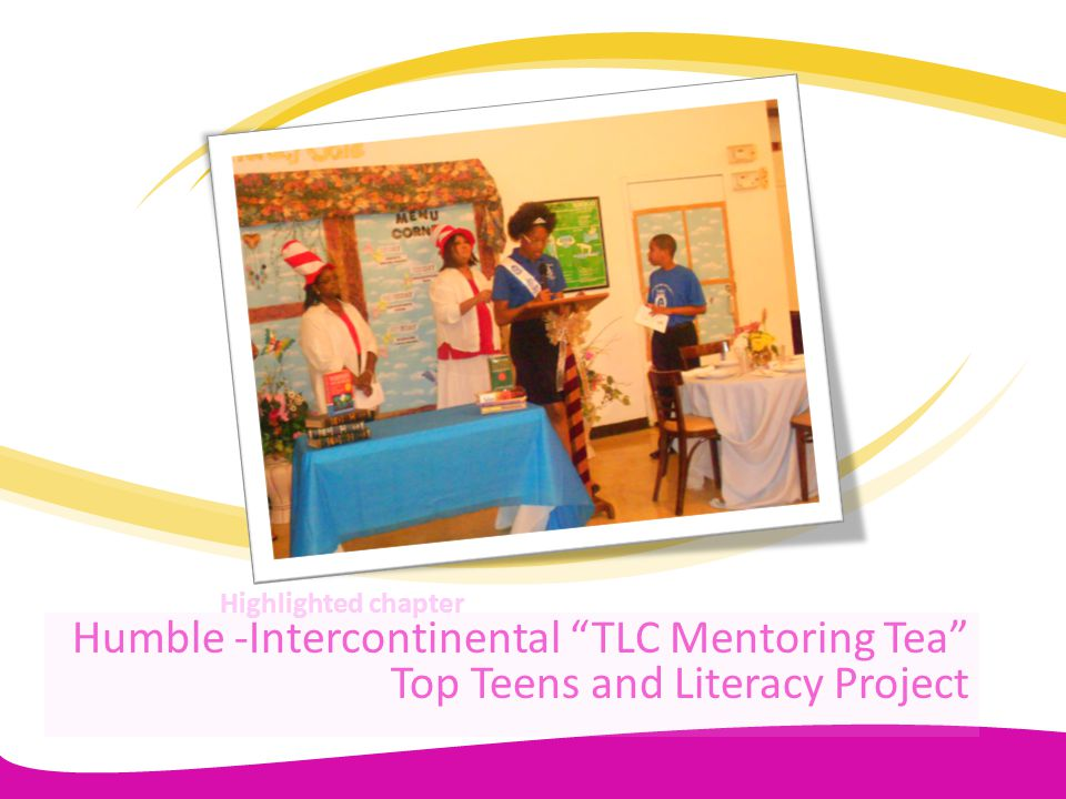 Humble -Intercontinental TLC Mentoring Tea