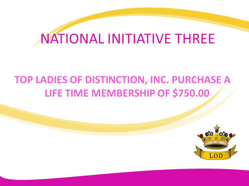 NATIONAL INITIATIVE THREE
