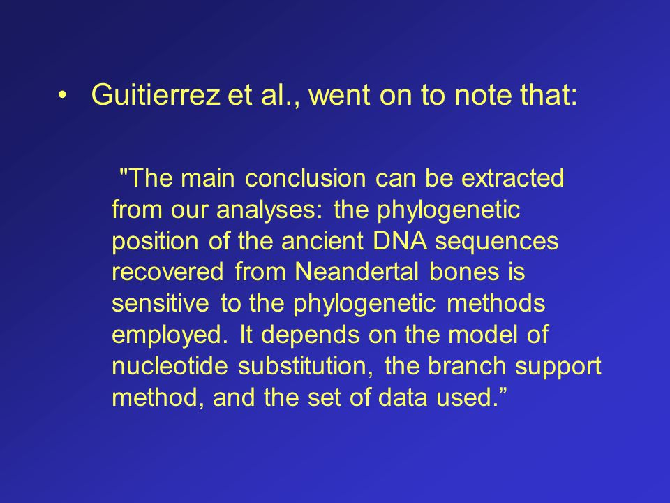 Guitierrez et al., went on to note that: