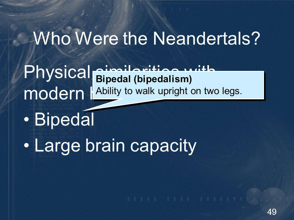 Who Were the Neandertals